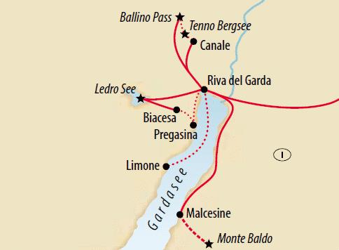 Wandern am Gardasee 10