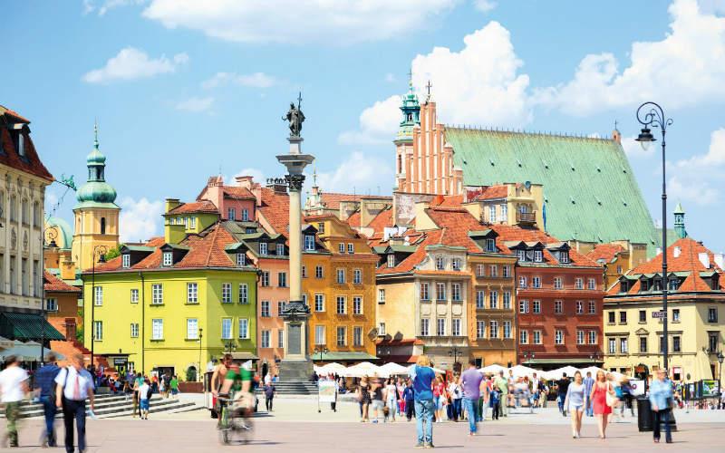 Le grand circuit en Pologne avec HILTON 2