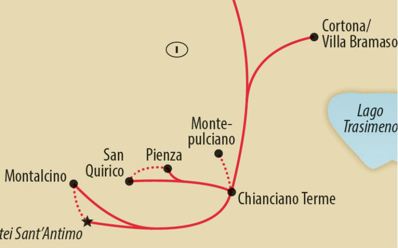 Weinwandern in der Südtoskana 4