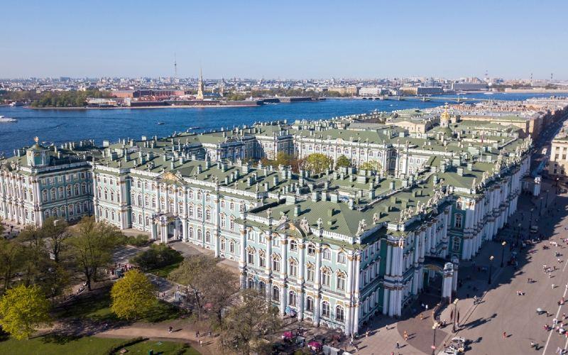 Von St. Petersburg nach Moskau 1