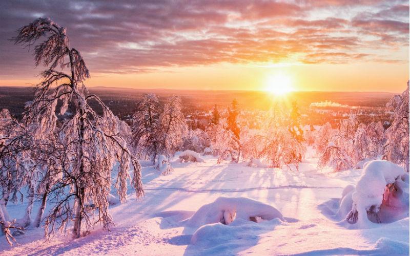 Wintertraum Lappland 1