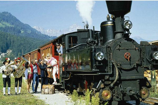 Magie de l'Avent & circuit romantique en train à vapeur 1