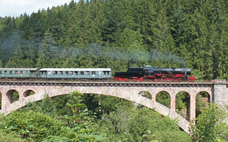 Les trains à vapeur de Forêt-Noire 5