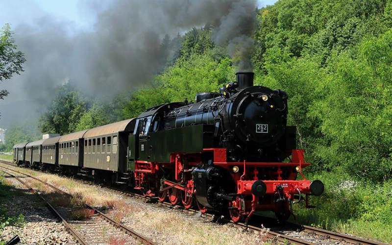 Les trains à vapeur de Forêt-Noire 1