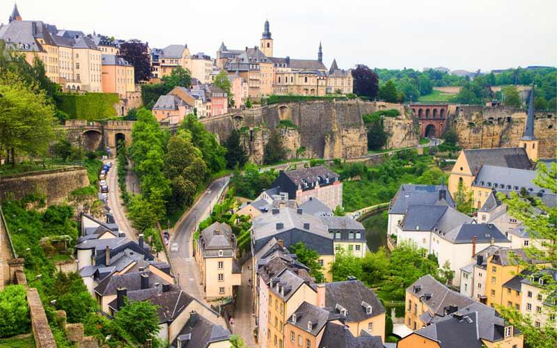 luxembourg-Luxembourgs-Altstadt