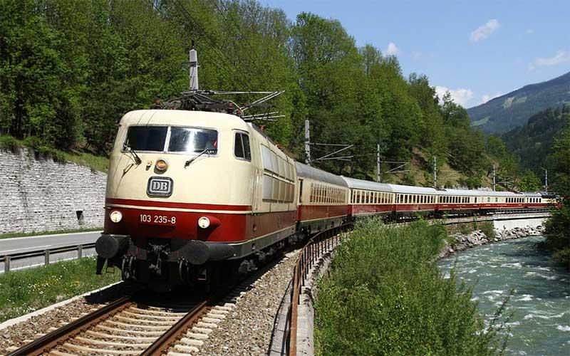 Legendärer Rheingold Express 6