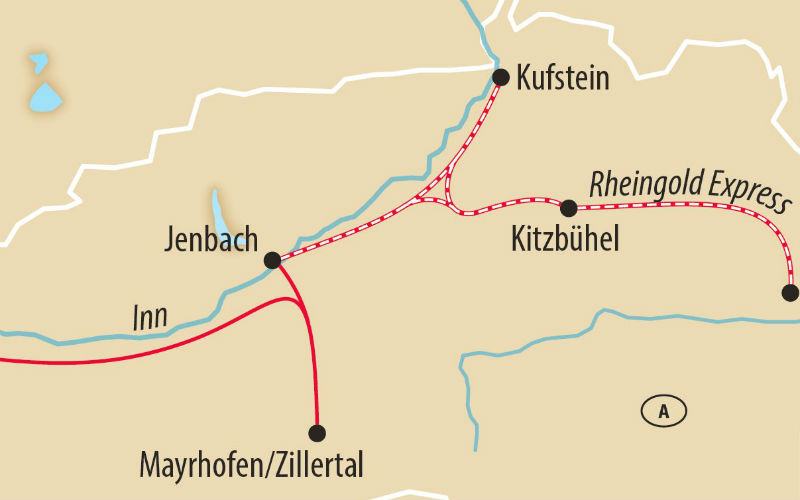 Legendärer Rheingold Express 3