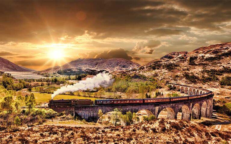 Ecosse - romantisme ferroviare & paysage de rêve 9