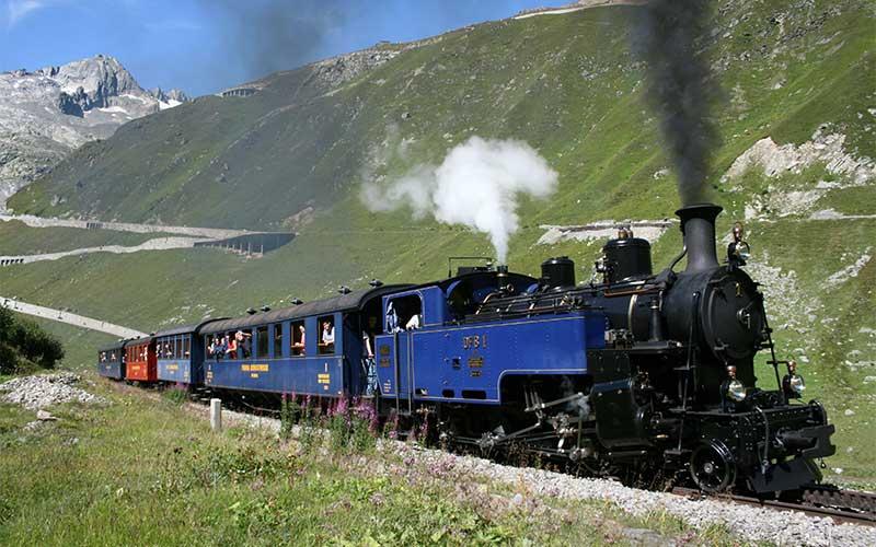 Schweizer Dampfeisenbahn Klassiker 6