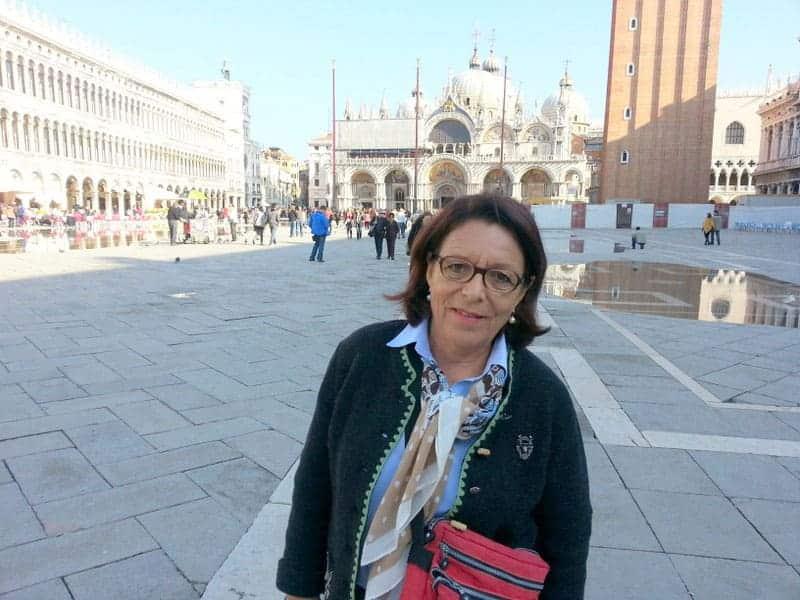 Kundin von car-tours.ch in Venedig
