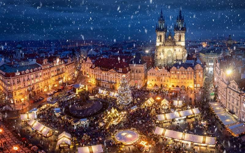 Féerie de l'Avent à Prague 1