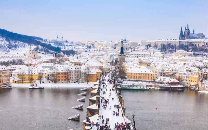 Féerie de l'Avent à Prague 4