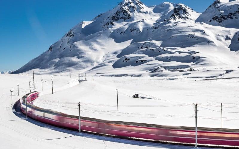 Un hiver de conte de fées en Suisse 5