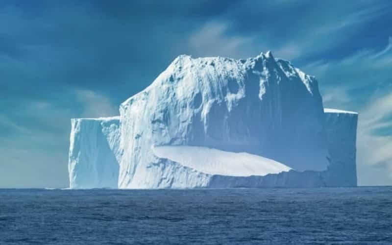 Meeresstrasse Zwischen Der Südspitze Südamerikas Und Der Nordspitze Der Antarktischen Halbinsel