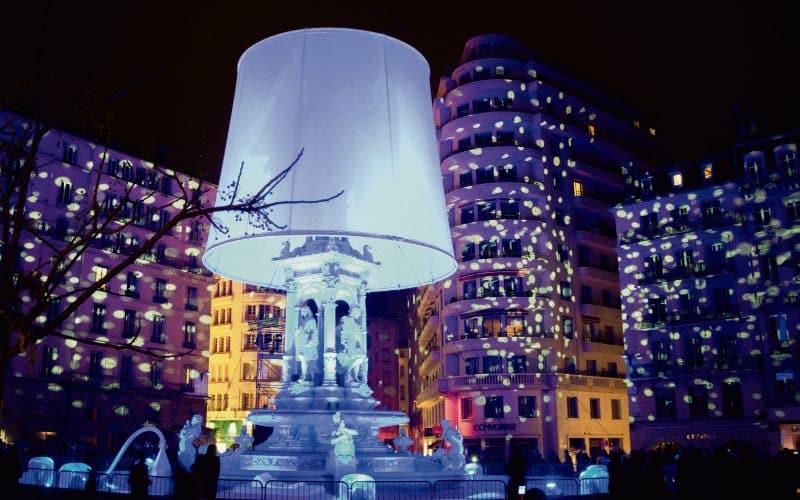 Fête des Lumières in Lyon 1