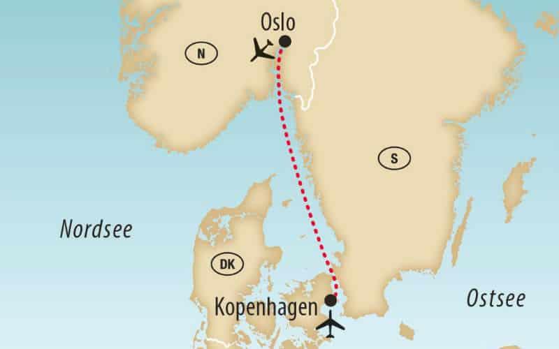Copenhague & Oslo à l'Avent 1