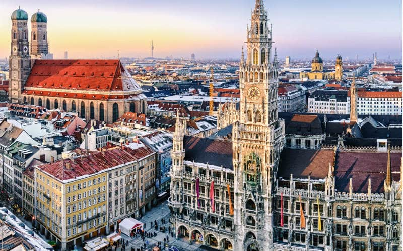 Silvester im Herzen Münchens 1