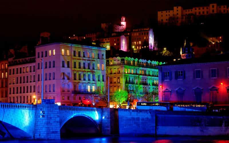 Fête des Lumières in Lyon 5