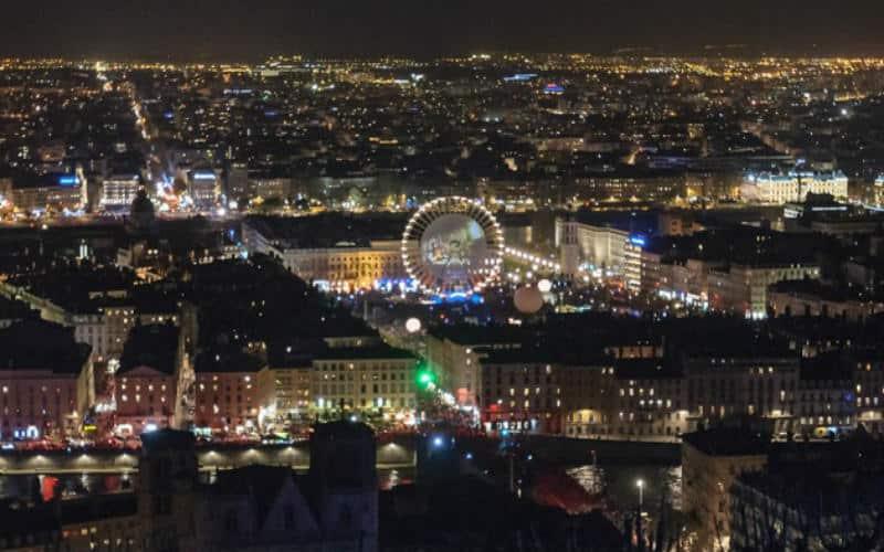 Fête des Lumières in Lyon 6