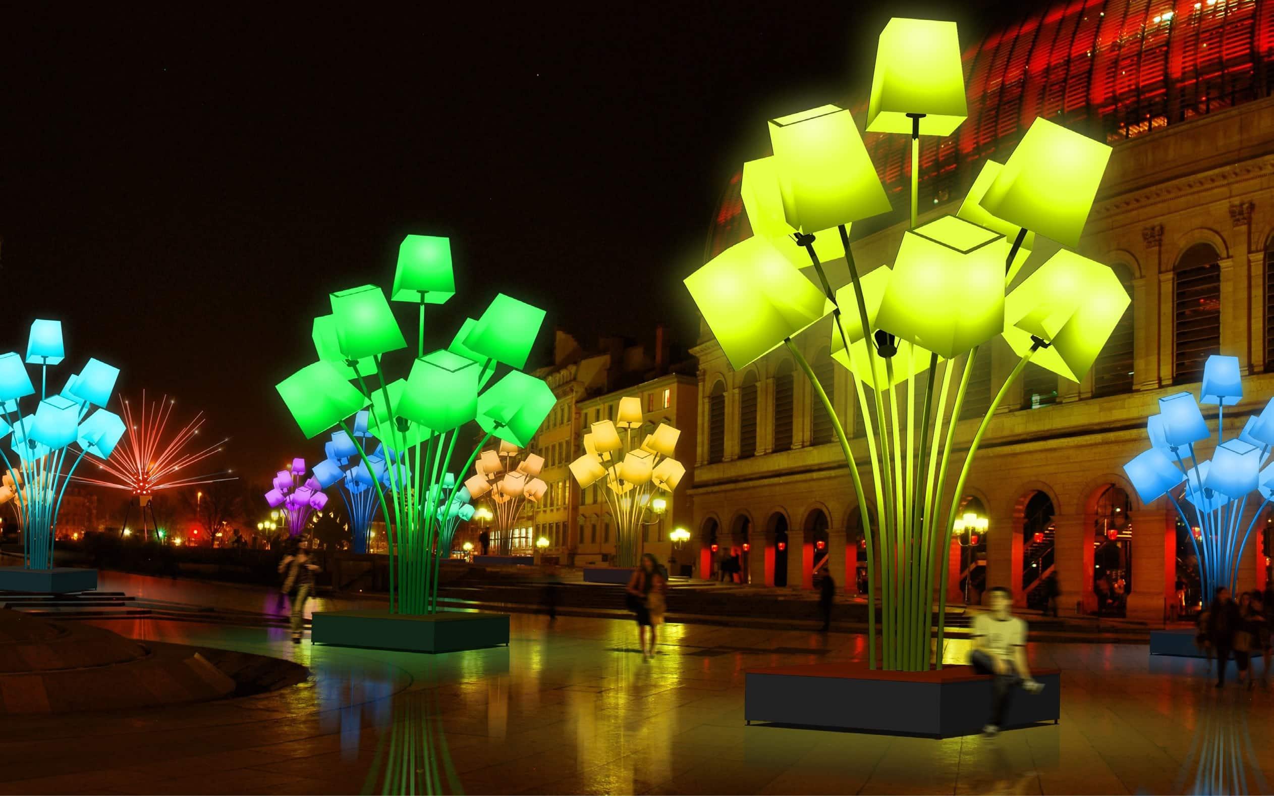 Fête des Lumières in Lyon 2