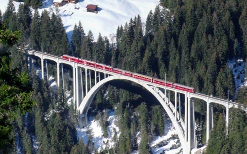 Un hiver de conte de fées en Suisse 3