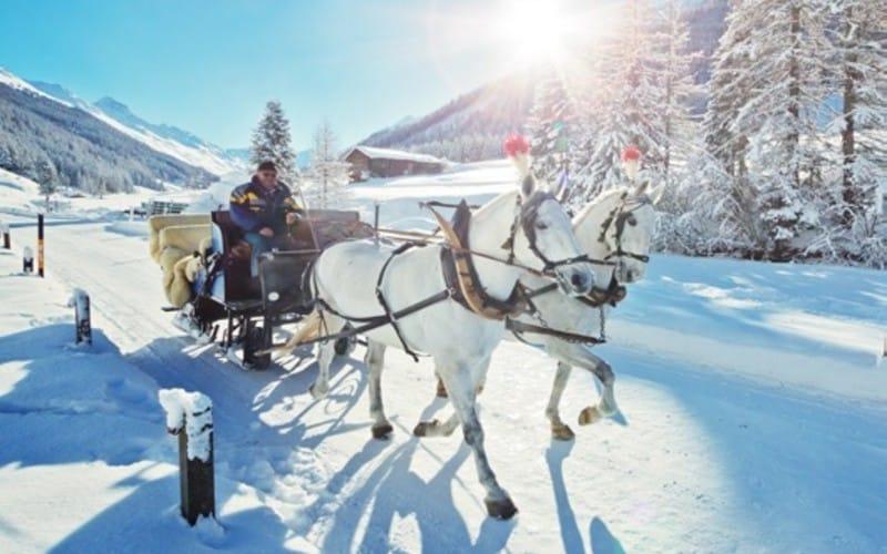 Un hiver de conte de fées en Suisse 2