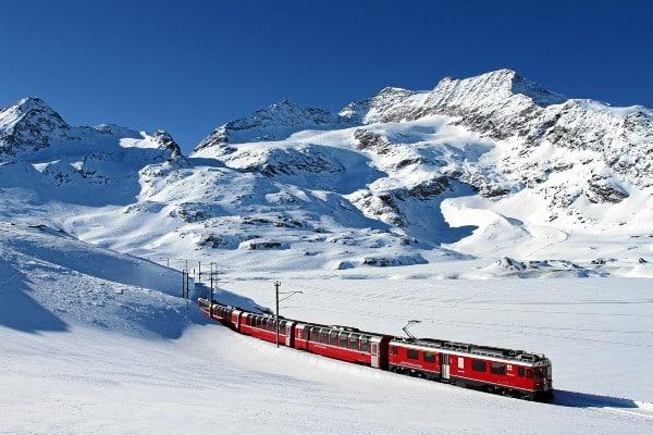 Unterwegs im legendären Bernina Express TOP