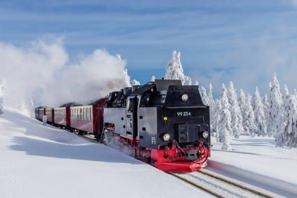 Unterwegs mit der Brockenbahn TOP