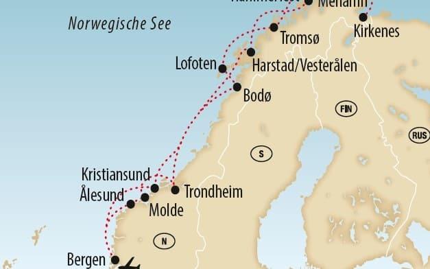 Faszination Hurtigruten 4