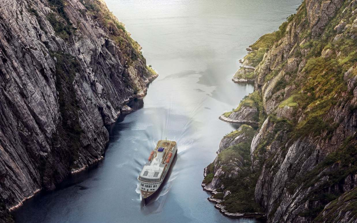 Havila - die neuen norwegischen Postschiffe! 5