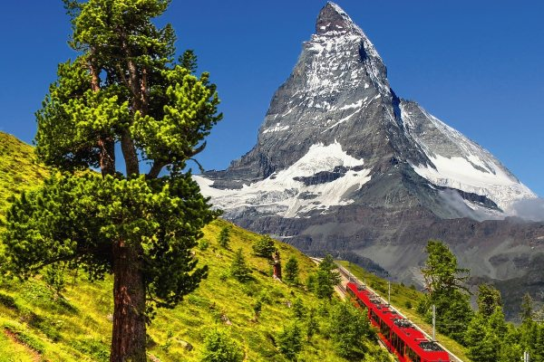 Weltbekannte Gornergratbahn & magisches Matterhorn TOP
