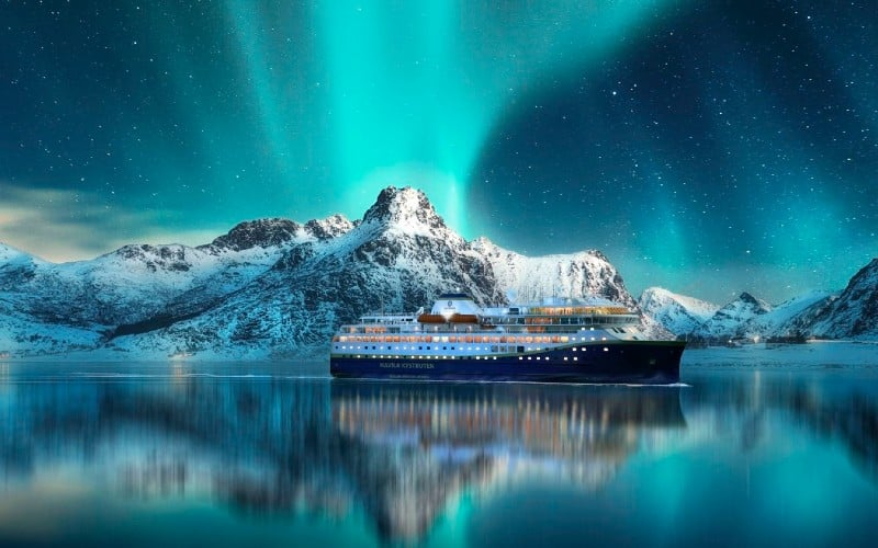Postschiffroute & Polarlichter 1