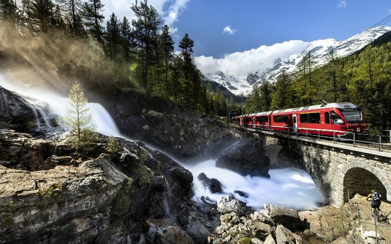 Davos & Bernina-Express 1