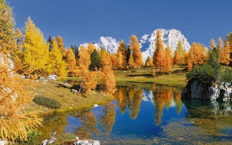 Goldener Herbst im Trentino 1