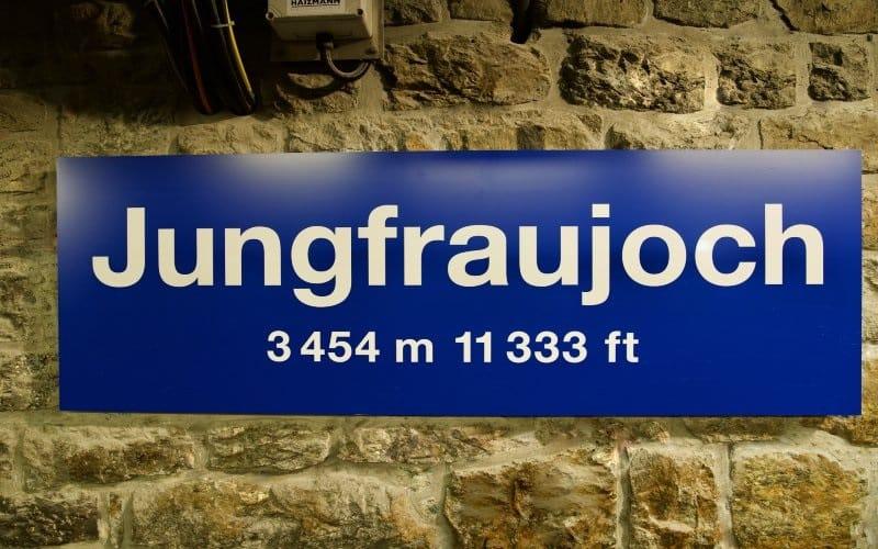 Jungfrau - Top of Europe 5
