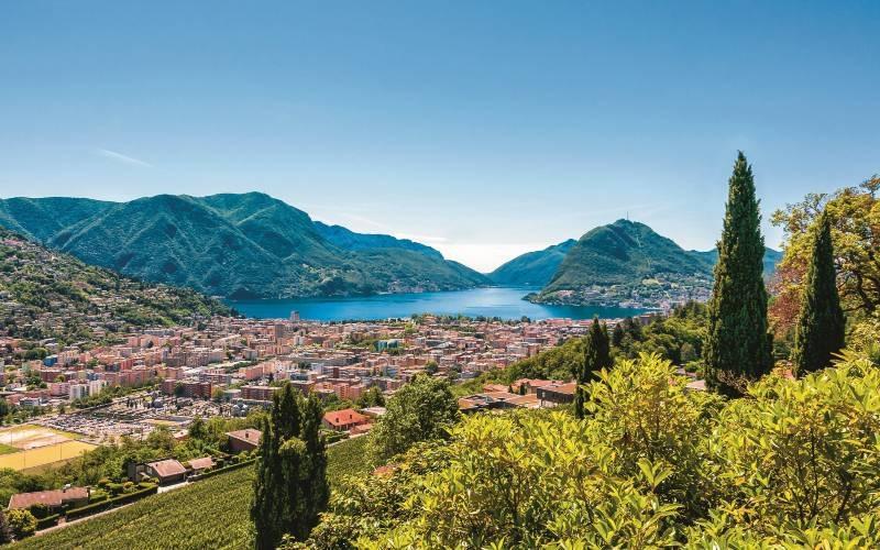 Lugano & Mont Bré 1