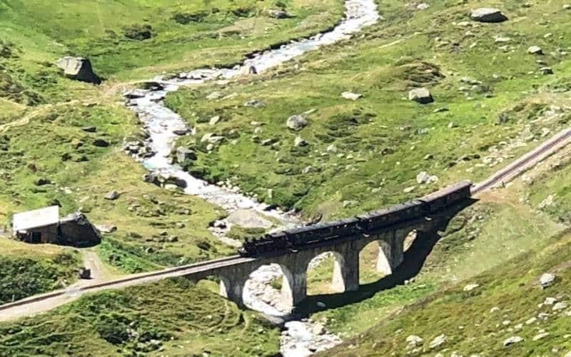 Legendäre Furka Dampfbahn 3
