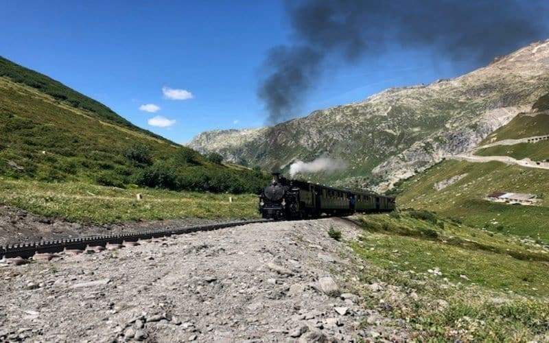 Legendäre Furka Dampfbahn 1