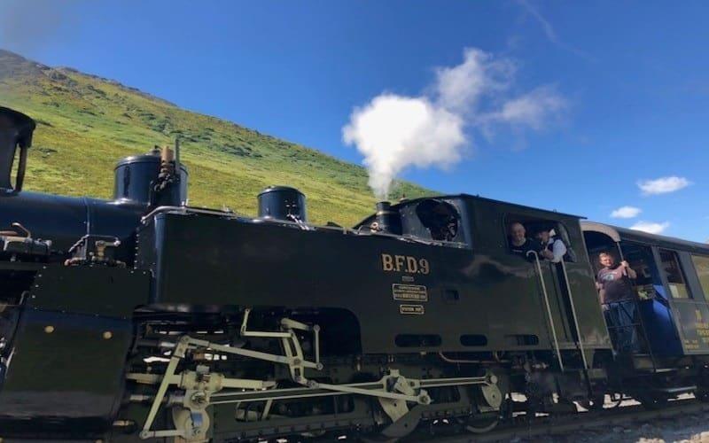 Légendaire train à vapeur de la Furka 5