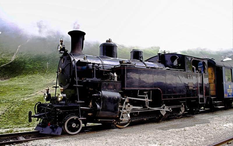 Légendaire train à vapeur de la Furka 2