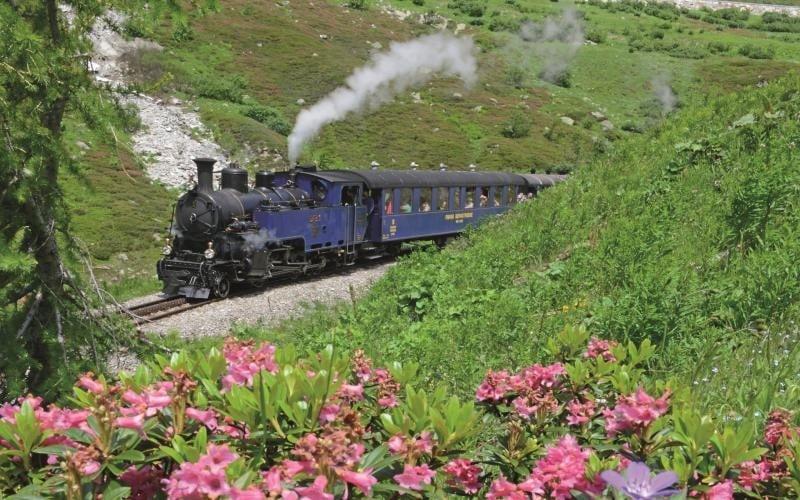 Légendaire train à vapeur de la Furka 1