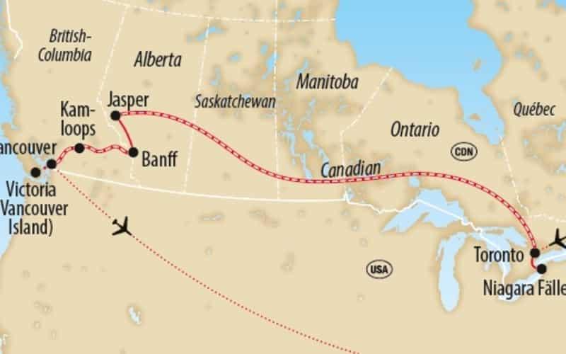 Von Toronto nach Vancouver 6