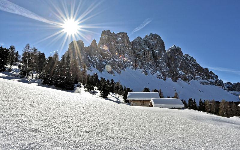 Wintersonne im Südtirol 5