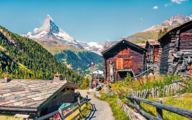 Vom Berner Oberland bis zum Matterhorn 1